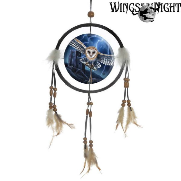 LISA PARKER Heart of the Storm Owl Dream Catcher 16cm